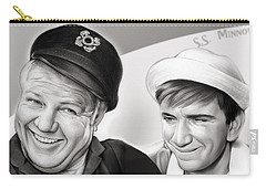 The Skipper And Gilligan Carry-all Pouch
