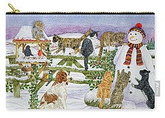 The Snowman And His Friends  Carry-all Pouch