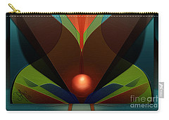 Carry-all Pouch featuring the digital art The Soul Vase by Rosa Cobos