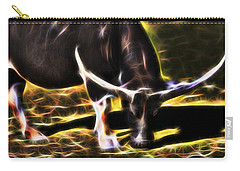 The Sparks Of Water Buffalo Carry-all Pouch by Miroslava Jurcik