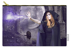 The Spell Is Cast Carry-all Pouch by Linda Lees
