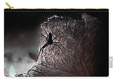 The Spider On The Candle - Subtly Colored Version Carry-all Pouch