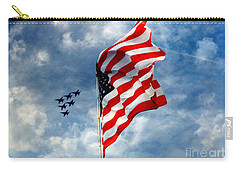The Star Spangled Banner Yet Waves Carry-all Pouch by Lydia Holly