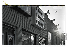 The Stone Pony Asbury Park Side View Carry-all Pouch by Terry DeLuco