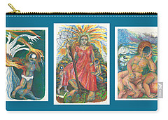 The Strength Tryptic Carry-all Pouch by Melinda Dare Benfield