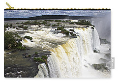 The Stunning Falls Of Iguacu Brazil Side Carry-all Pouch