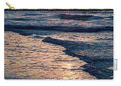 Sun Rising Over The Beach Carry-all Pouch