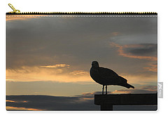 The Sunset Perch Carry-all Pouch by Jean Goodwin Brooks