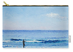 The Surf Fisherman Carry-all Pouch by Jan Matson