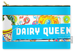 The Sweet Life Carry-all Pouch by Beth Saffer