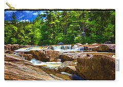 The Swift River Beside The Kancamagus Scenic Byway In New Hampshire Carry-all Pouch