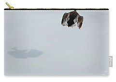 Carry-all Pouch featuring the photograph The Takeoff by Mim White