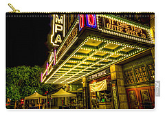 The Tampa Theater Carry-all Pouch by Marvin Spates