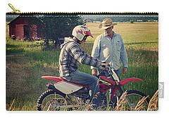 Carry-all Pouch featuring the photograph The Teacher by Meghan at FireBonnet Art