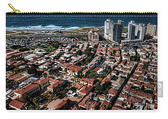 Carry-all Pouch featuring the photograph the Tel Aviv charm by Ron Shoshani