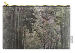 Carry-all Pouch featuring the photograph The Terrace by Elaine Teague
