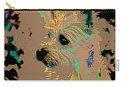 The Terrier Carry-all Pouch by Lynn Sprowl