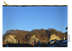 Carry-all Pouch featuring the photograph The Three Stones From Burgdorf by Felicia Tica