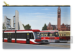 The Toronto Streetcar 100 Years Carry-all Pouch by Kenneth M  Kirsch