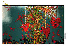 The Tree Of Hearts Carry-all Pouch