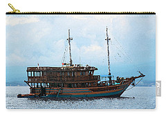 Carry-all Pouch featuring the photograph The Trip To Bunaken by Sergey Lukashin