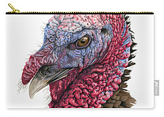 The Turkey Carry-all Pouch by Sarah Batalka