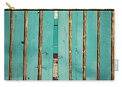 The Turquoise Gate Carry-all Pouch by Holly Blunkall
