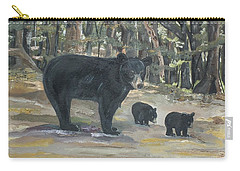 Cubs - Bears - Goldilocks And The Three Bears Carry-all Pouch