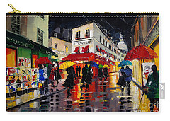 The Umbrellas Of Montmartre Carry-all Pouch