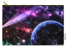 Carry-all Pouch featuring the photograph The Undiscovered Planet  by Naomi Burgess