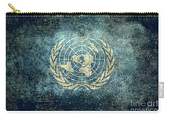The United Nations Flag  Vintage Version Carry-all Pouch