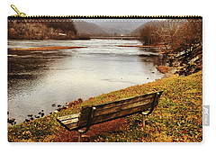 Carry-all Pouch featuring the photograph The View by Kerri Farley
