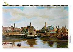 The View Of Delft Carry-all Pouch by Henryk Gorecki