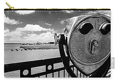 Carry-all Pouch featuring the photograph The Viewer by Sennie Pierson