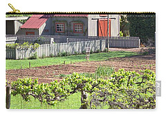 The Vineyard Barn Carry-all Pouch by Gordon Elwell