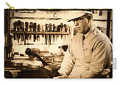 The Violin Maker Carry-all Pouch