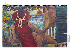The Voyeurs Carry-all Pouch by Avonelle Kelsey