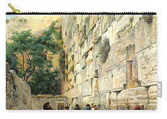 The Wailing Wall Jerusalem Carry-all Pouch