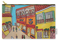 The Walled City Carry-all Pouch by Artists With Autism Inc