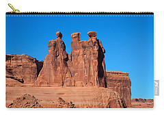 Carry-all Pouch featuring the photograph The Watchers by John M Bailey