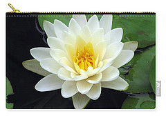 Carry-all Pouch featuring the photograph The Water Lilies Collection - 02 by Pamela Critchlow
