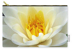 Carry-all Pouch featuring the photograph The Water Lilies Collection - 03 by Pamela Critchlow