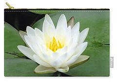 Carry-all Pouch featuring the photograph The Water Lilies Collection - 04 by Pamela Critchlow