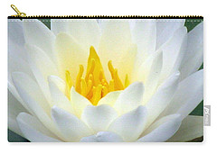 Carry-all Pouch featuring the photograph The Water Lilies Collection - 05 by Pamela Critchlow