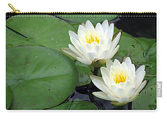 Carry-all Pouch featuring the photograph The Water Lilies Collection - 06 by Pamela Critchlow