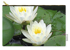 Carry-all Pouch featuring the photograph The Water Lilies Collection - 07 by Pamela Critchlow