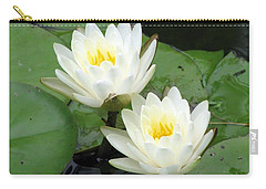Carry-all Pouch featuring the photograph The Water Lilies Collection - 08 by Pamela Critchlow