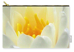 Carry-all Pouch featuring the photograph The Water Lilies Collection - 10 by Pamela Critchlow