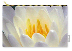 Carry-all Pouch featuring the photograph The Water Lilies Collection - 11 by Pamela Critchlow