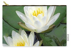 Carry-all Pouch featuring the photograph The Water Lilies Collection - 12 by Pamela Critchlow